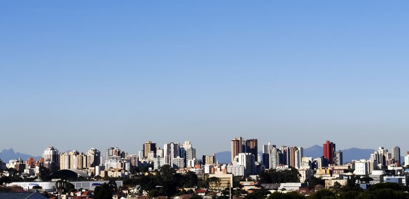 Foto: Bairro Juvevê, em Curitiba.